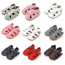 Scarpe sandali casual in pelle per bimbi