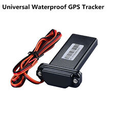 Black Mini Real Time GMS GPS Tracker Tool For Car Vehicle Motorcycle Waterproof