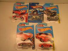 Hot Wheels Car Lot Of 5 Cars S26