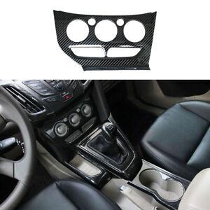 for Ford Focus 2012-2014 Carbon fiber color Air Condition Panel Control trim