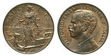 pci0116) Regno Vittorio Emanuele III cent 2 prora 1915