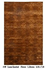 Delicate Transitional All-Over Pattern Modern 5x8 Handmade Area Rug KPSI 200