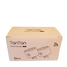 TanTan WiFi Outlet Mini Socket Remote Smart Plug Works with Alexa / Google Home