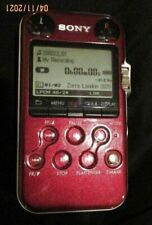Sony PCM-M10 Linear PCM Recorder (Red)