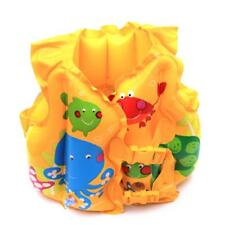 Kid Child Inflatable Float Swimming Life Jacket Vest Swim Pool Training Aids