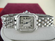 Cartier Ladies Panthere Steel Watch Cartier Panther Watch Cartier watch