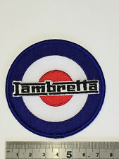 Lambretta Target Patch - Embroidered - Iron or Sew On