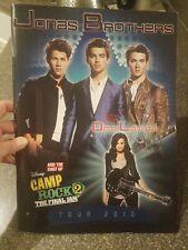 JONAS BROTHERS 2010 World Tour Concert Souvenir Book  Demi Lovato guest