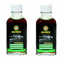 2x 50ml BALLISTOL GUNEX Gun Oil Lubrication Maintenance Rust Protect NO Gumming
