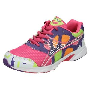 Ladies Air Tech Casual Lace Up Everyday Trainers Active