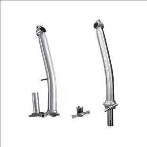 Titanium Handlebar Stem Head tube for Brompton Bicycle S Type 350mm