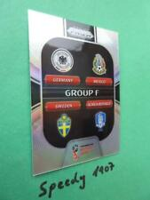 Panini PRIZM World Cup 2018 Russia GROUP STAGE  Group F GS-F REFRACTOR
