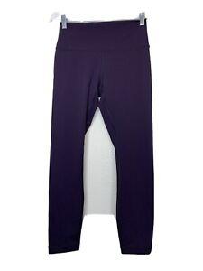 LULULEMON Wunder Under Burgundy Cassis High-Rise leggings Luxtreme Sz 8