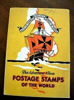 CatalinaStamps: The Adventurer Album, Stamps of the World, Harris 1930's, Lot E