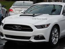 2015, 2016, 2017 Hood Scoop for Mustang GT / V6 by MrHoodScoop PAINTED HS009