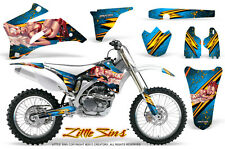 YAMAHA YZ250F YZ450F 06-09 GRAPHICS KIT CREATORX DECALS LSBLI