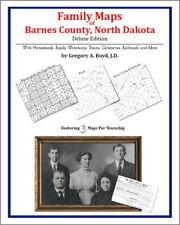 Family Maps Barnes County North Dakota Genealogy Plat