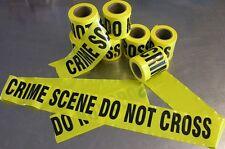 CRIME SCENE TAPE CSI  - 8 metres Hi Strength Reusable