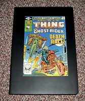 MARVEL TWO-IN-ONE THE THING VERSUS THE GHOST RIDER #80  1981