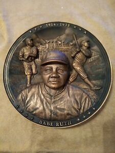 Babe Ruth 3D The Sultan of Swat IMMORTALS OF THE DIAMOND Plate COA