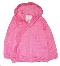 Carter's Little/Big Girls Pink Dot Windbreaker Jacket Size 4/5 6/6X 7 8 10/12 14