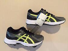 ASICS Men's Shoes Gel Contend 3 Carbon/Flash Yellow/Black - Size 8 Wide 4E
