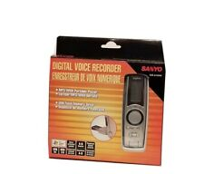 SANYO ICR-A 125M DIGITAL VOICE ACTIVATED RECORDER MP3/WMA PORTABLE PLAYER USB FL