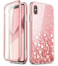 iPhone XS Max Case, Cosmo Slim PinkGlitter Designer Case Cover For iPhone XS Max