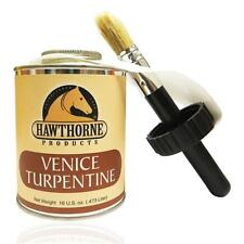 Hawthorne Venice Turpentine Toughen Harden Sole Antiseptic Tender 16 oz w/ Brush