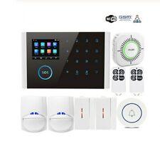 WIFI GSM Home Alarm System Touch Screen Dial Phone APP Remote Control PIR Sensor