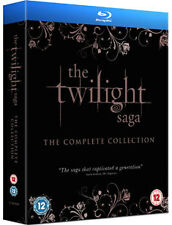THE TWILIGHT SAGA - THE COMPLETE COLLECTION - BLU-RAY - REGION B UK