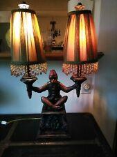 Vintage monkey lamp