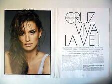 COUPURE DE PRESSE-CLIPPING : Penélope CRUZ Viva la Vie [5pages] 05/2016