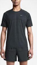 Nike Impreso Miler Dri-Fit Hombre Para Correr Top (M) 644335 008