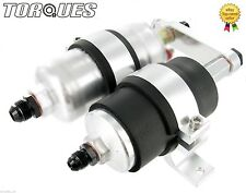 Single Bosch 044 Fuel Pump and Bosch Filter Assembly Without Pump In Silver