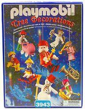 Christmas Tree Decorations Playmobil 3943 de `00 USA Noël Ovp Neuf Rare