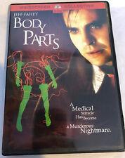 BODY PARTS (DVD, 2004) *Rare, OOP!* Jeff Fahey (1991) HORROR LIKE NEW Region 1