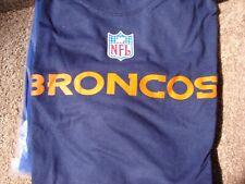 Denver Broncos Reebok Blue T-Shirt - XL