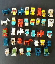 36 New minecraft Steve minifigure action figures plastic kids toy gift lot