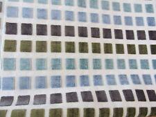 200x140cm Rest Polsterstoff  blau grün türkis Bezugsstoff Möbelstoff braun grau
