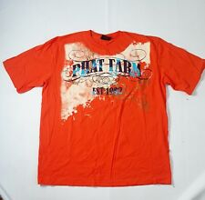 Phat Farm Graphic T Shirt 1990s Streetwear Red Men's 2XL USA
