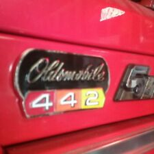 64-80 Olds 442 unique emblem/Snap on tool box/refrigerator magnets