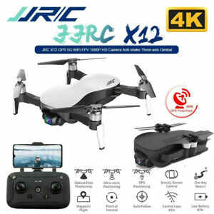 JJRC X12 Brushless RC Drone con fotocamera Gimbal a 3 assi 4K 12MP N4S2