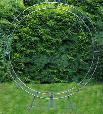 Circular wedding arch wedding flowers venue decoration circle flower trend