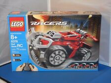 2004 Lego Racers Red Beast RC #8378 Building Toy Set MISB! 70 Pcs! Radio Control
