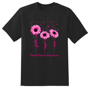Breast Cancer Awareness T shirt Adults Unisex