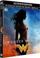 WONDER WOMAN BLU RAY 4K ULTRA HD+ BLU RAY ET  3D   NEUF SOUS CELLOPHANE