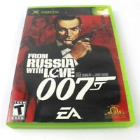 XBOX From Russia With Love 007 James Bond Sean Connery Video Game Rated T EA