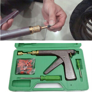Electric  Motorcycle Car Motor Tire Plugging Tubeless Tire Repair Tool Kit