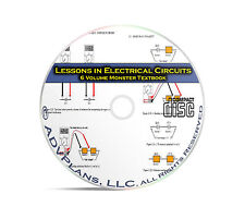 Lessons in Electric Circuits, AC and DC, 6 Volume Electronics Study Books CD C03